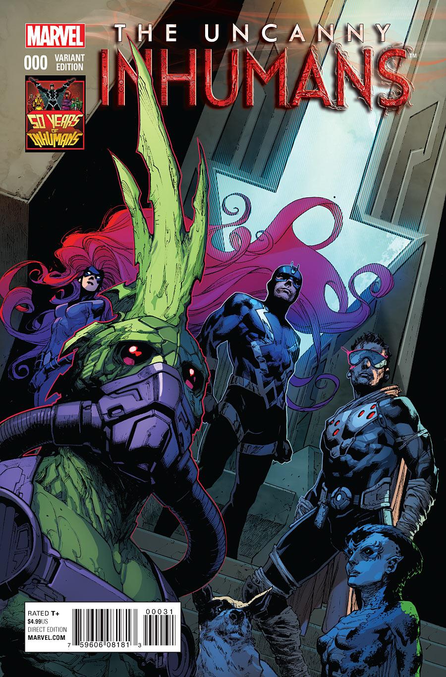 Uncanny Inhumans Vol 1 0 50 Years of Inhumans Variant.jpg