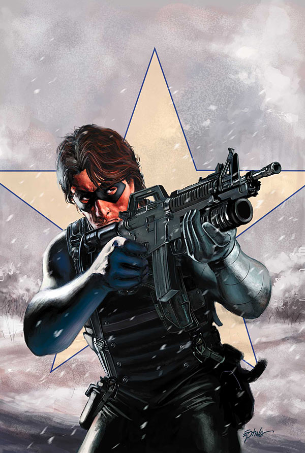 Image result for winter soldier comics cover art