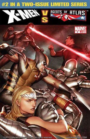 X-Men vs. Agents of Atlas Vol 1 2