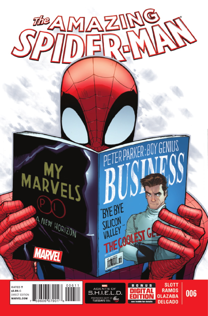 amazing spider-man vol 3 6 | marvel database | fandom poweredwikia