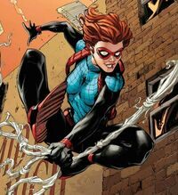 Anna-May Parker (Earth-18119) from Amazing Spider-Man Renew Your Vows Vol 2 16 Cover