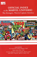Avengers, Thor & Captain America Official Index to the Marvel Universe Vol 1 5