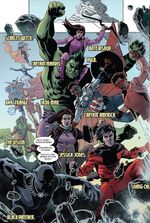Avengers (Earth-TRN664) from Deadpool Kills the Marvel Universe Again Vol 1 3 001