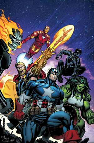 Avengers Vol 8 10 Textless