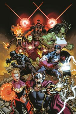 Avengers Vol 8 1 Virgin Variant
