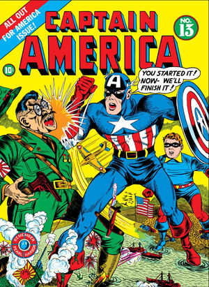 Captain America Comics Vol 1 13