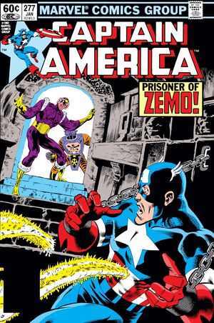 Captain America Vol 1 277