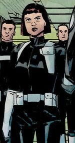 Chelsea (S.H.I.E.L.D. Agent) (Earth-616) from Infamous Iron Man Vol 1 9 001