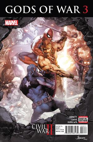 Civil War II Gods of War Vol 1 3