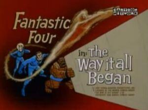 Fantastic Four (1967 animated series) Season 1 7 Screenshot