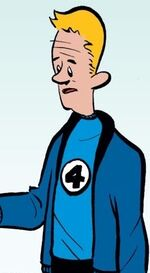 Franklin Richards (Earth-10920) from Franklin Richards It's Dark Reigning Cats & Dogs Vol 1 1