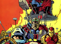 Galactic Avenger Battalion Theta-4 (Earth-9812) from Avengers Forever Vol 1 1 001