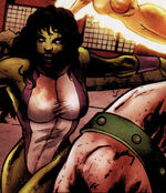 Jennifer Walters (Earth-2149) from Marvel Zombies Vs. Army of Darkness Vol 1 3 0001