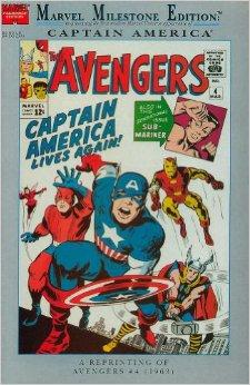 Marvel Milestone Edition Avengers Vol 1 4