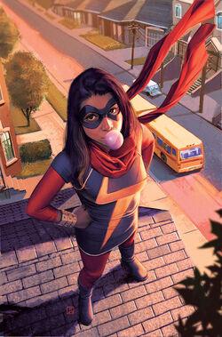 Ms. Marvel Vol 3 2 Molina Variant Textless