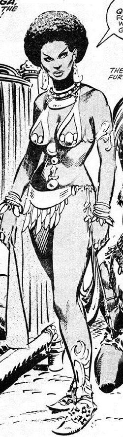 Nzinga (Earth-616) from Savage Sword of Conan Vol 1 41 0001