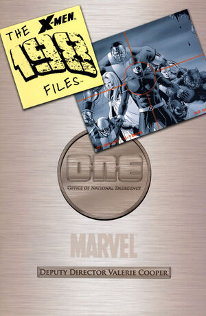 X-Men The 198 Files Vol 1 1