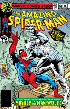 Amazing Spider-Man Vol 1 190