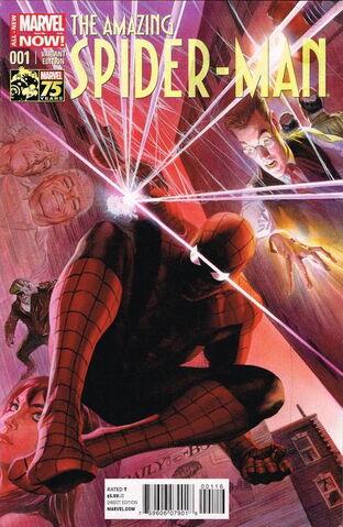 File:Amazing Spider-Man Vol 3 1 Ross Variant.jpg