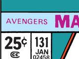 Avengers Vol 1 131