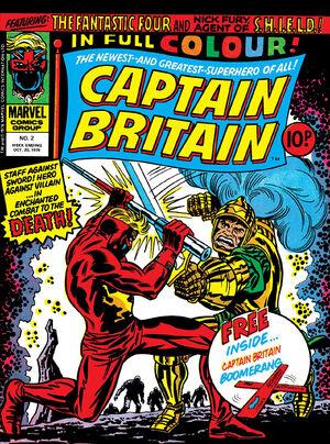Captain Britain Vol 1 2