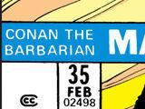 Conan the Barbarian Vol 1 35