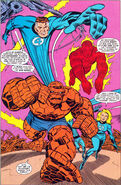 Fantastic Four (Earth-616) go to investigate the Mad Thinker's hideout from Fantastic Four World's Greatest Comics Magazine Vol 1 2 001