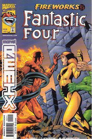 Fantastic Four Fireworks Vol 1 2