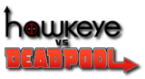 Hawkeye vs Deadpool (2014) logo