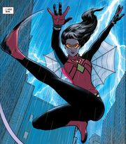 Jessica Drew (Earth-616) from Spider-Woman Vol 5 5 001