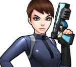 Maria Hill (Earth-TRN562) from Marvel Avengers Academy 001