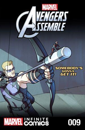 Marvel Universe Avengers Infinite Comic Vol 1 9