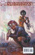 Runaways Vol 2 28 Variant Zombie