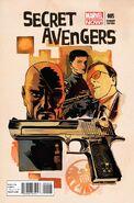 Secret Avengers Vol 2 5 Francavilla Variant