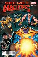 Secret Wars Vol 1 4 Starlin Variant