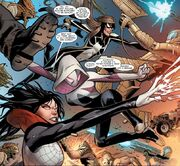 Spider-Army (Multiverse) from Spider-Woman Vol 5 4 001