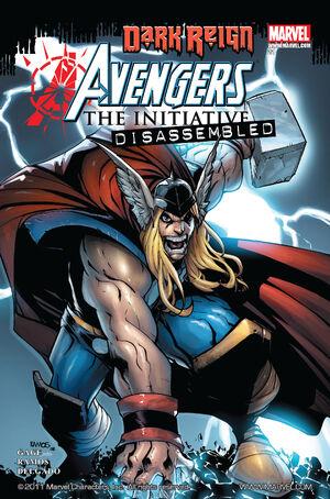 Avengers The Initiative Vol 1 21