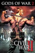 Civil War II Gods of War Vol 1 2 Textless