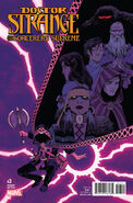 Doctor Strange and the Sorcerers Supreme Vol 1 3 Shalvey Variant