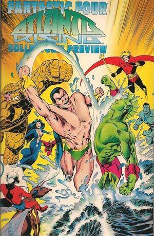 Fantastic Four Atlantis Rising Collectors' Preview Vol 1 1