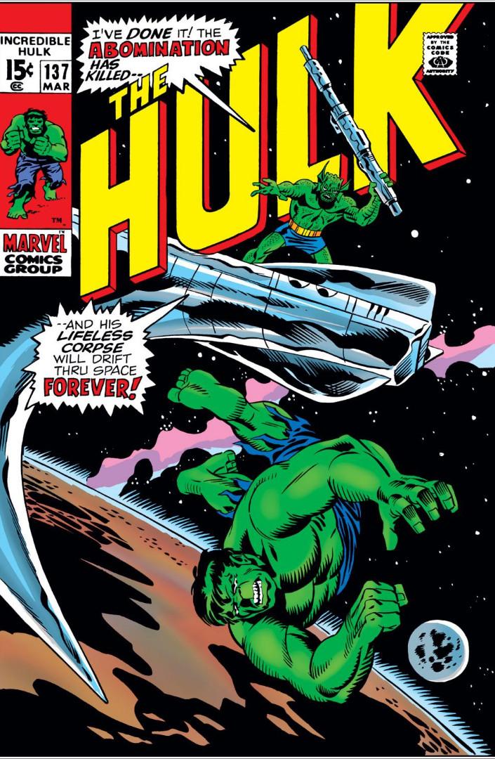 Incredible Hulk Vol 1 137