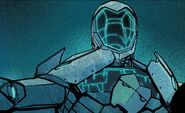 Iron Man Armor Model 51 from Invincible Iron Man Vol 1 598 001
