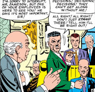 John Jonah Jameson, Midtown Business Executives Club, Norman Osborn (Earth-616) from Amazing Spider-Man Vol 1 23