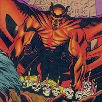 Kierrok (Earth-TRN566) and Book of R'lyeh from Adventures of the X-Men Vol 1 4 0001