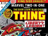 Marvel Two-In-One Annual Vol 1