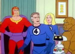 Max Eisenhardt (Earth-78909) and Fantastic Four (Earth-78909) from Fantastic Four (1978 animated series) Season 1 2 0001
