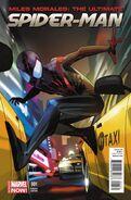 Miles Morales Ultimate Spider-Man Vol 1 1 Staples Variant