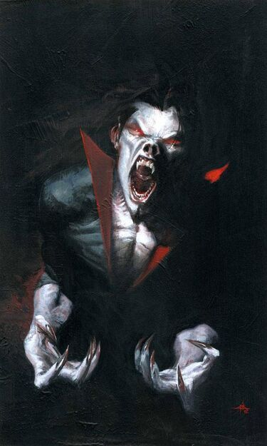 Morbius The Living Vampire Vol 2 1 Textless