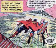 Mount Kilimanjaro from Superman vs. the Amazing Spider-Man Vol 1 1 001
