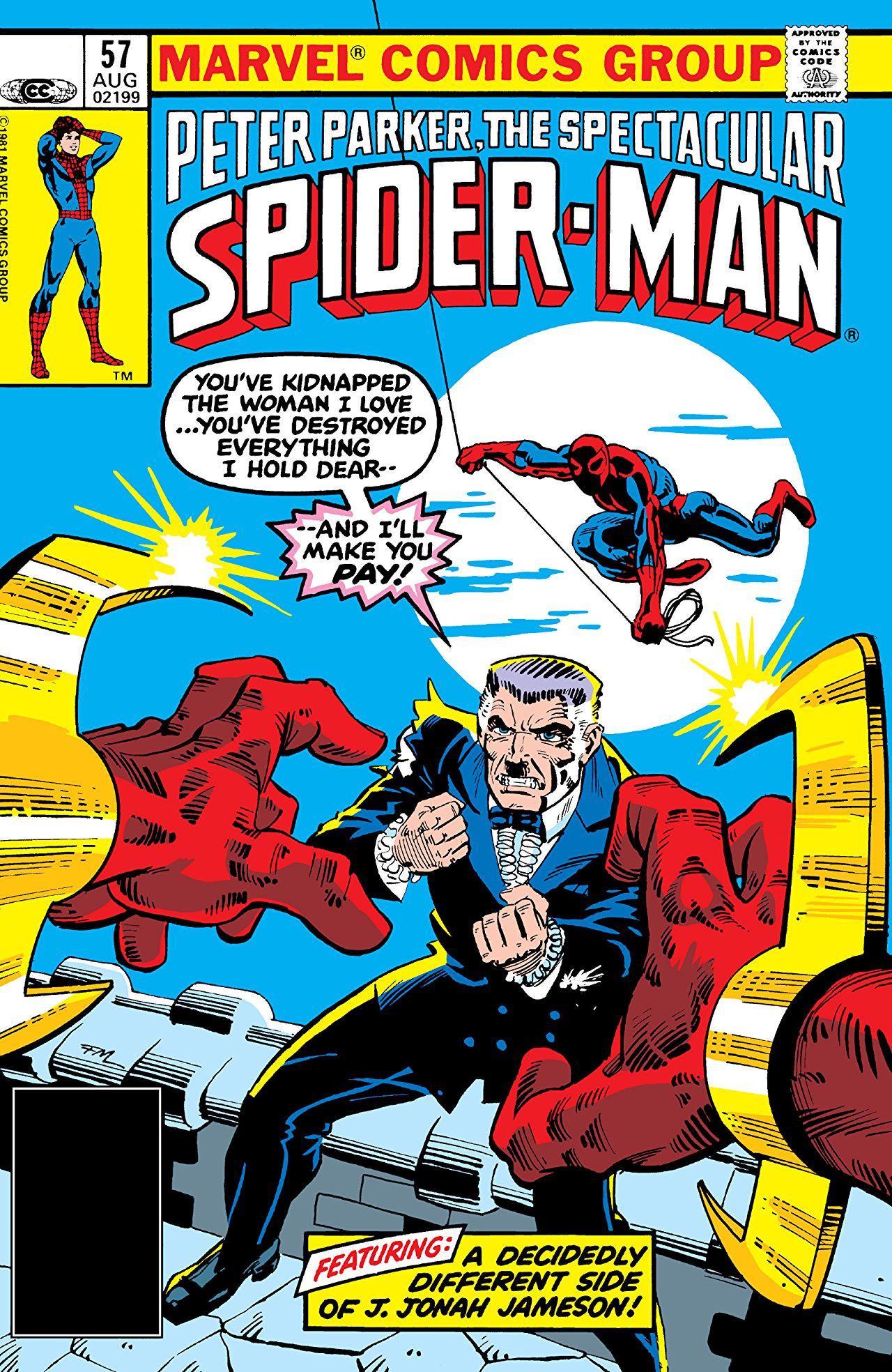 Peter Parker, The Spectacular Spider-Man Vol 1 57
